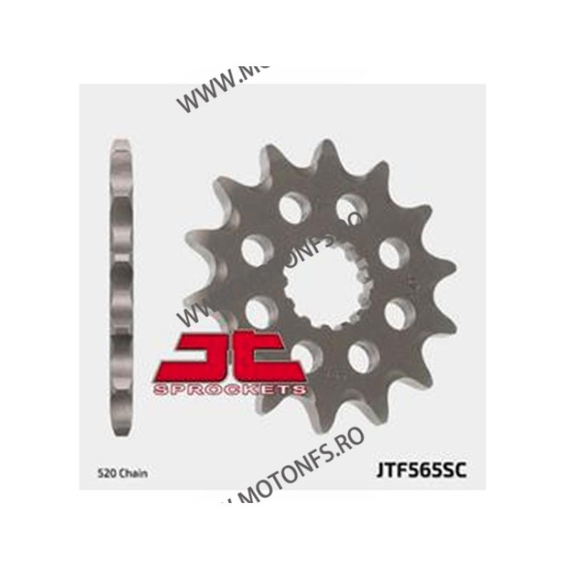 JT - Pinion MX (fata) JTF565SC, 14 dinti - YZ400/426F/450F /WR400-450 100-404-14 JT Sprockets JT Sprockets Pinion 44,00lei 4...