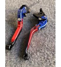 SET MANETE FRANA / AMBREIAJ - PRELUNGITE RABATABILE , pentru 3 sau 4 degete Yamaha Honda Suzuki Dugati KTM BMW MG3DV MG3DV  M...
