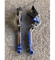 SET MANETE FRANA / AMBREIAJ - PRELUNGITE RABATABILE , pentru 3 sau 4 degete Yamaha Honda Suzuki Dugati KTM BMW BL5US BL5US  M...