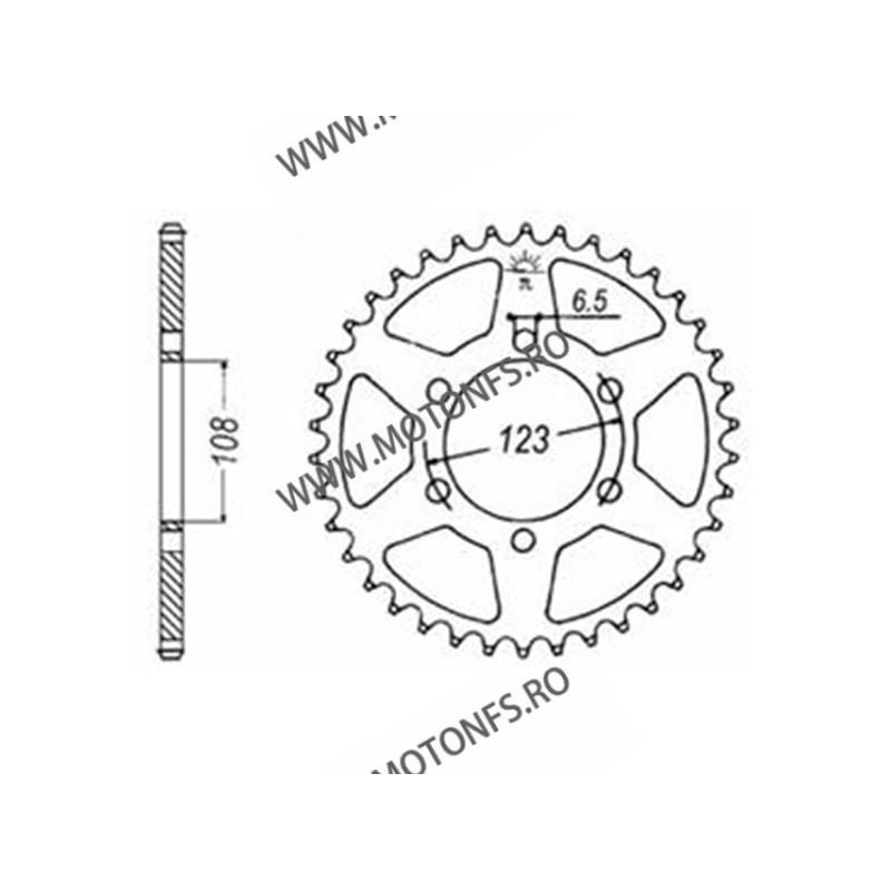 EMGO - Foaie (spate) JTR1133, 53 dinti - Derbi / Aprilia / Gilera 116-269-53  EMGO Foaie Spate 93,00lei 93,00lei 78,15lei ...