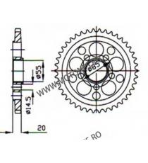 ESJOT - Foaie (spate) 50-29037, 45 dinti - YZF-R6 2006-/GSXR750 2011 115-567-45  ESJOT Foi spate 130,00lei 130,00lei 109,24...
