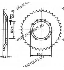 ESJOT - Foaie (spate) 50008, 44 dinti - KTM SX50 115-103-44  ESJOT Foi spate 78,00lei 78,00lei 65,55lei 65,55lei
