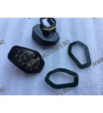 GSXR600 / GSXR750 2000 2001 2002 2003 2004 2005 GSXR1000 2001 2002 2003 2004 Semnalizare Moto LED Pentru Carena Fumuriu 224-0...