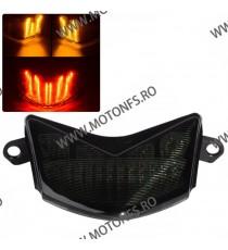 ZX6R ZX636 2005 2006 ZX10R 2006 2007  Z750S 2005 2006 Stopuri LED Cu Semnale Integrate Kawasaki st-038  Stopuri LED cu semnal...