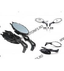 Set oglinzi retrovizoare moto Universal pentru cruiser chopper Negru Og350 OG350  Oglinzi universale 170,00RON 170,00RON 14...