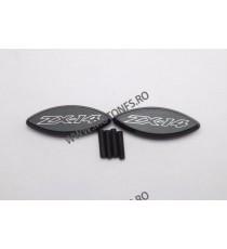 ZX14 ZX14R 2006 2007 2008 2009 2010 2011 2012 2013 2014 Set capace acoperire gauri oglinzi retrovizoare Negru co222-006  Capa...
