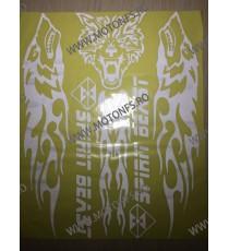 Kit Autocolant Stickere Pentru Moto Scuter Atv sk843 sk843  Stickere Carena Moto Scuter ATV 40,00RON 40,00RON 33,61RON 33,...