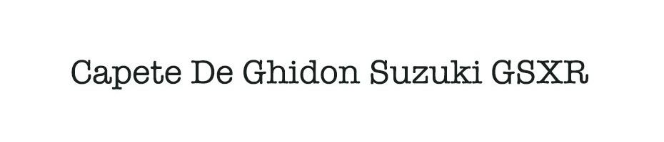 Capete De Ghidon Suzuki GSXR