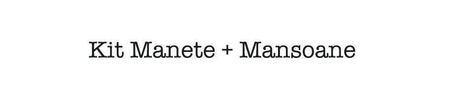 Kit Manete + Mansoane