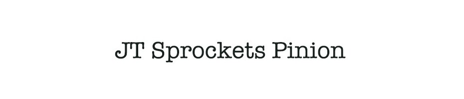 JT Sprockets Pinion