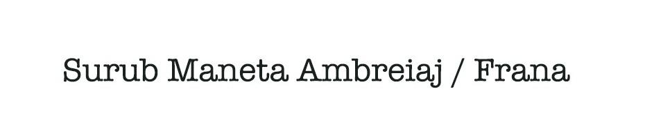 Surub Maneta Ambreiaj / Frana
