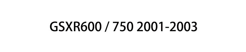 GSXR600 / 750 2001-2003