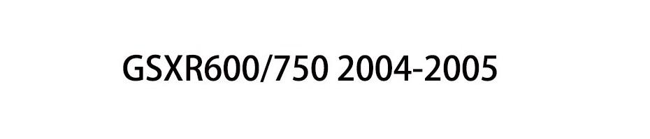 GSXR600/750 2004-2005