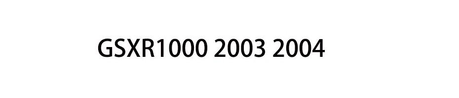 GSXR1000 2003 2004