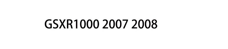 GSXR1000 2007 2008