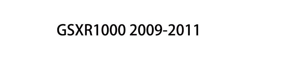 GSXR1000 2009-2011