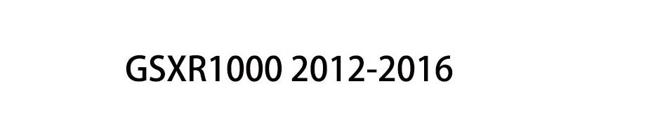 GSXR1000 2012-2016