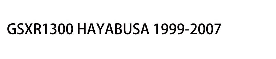 GSXR1300 HAYABUSA 1999-2007