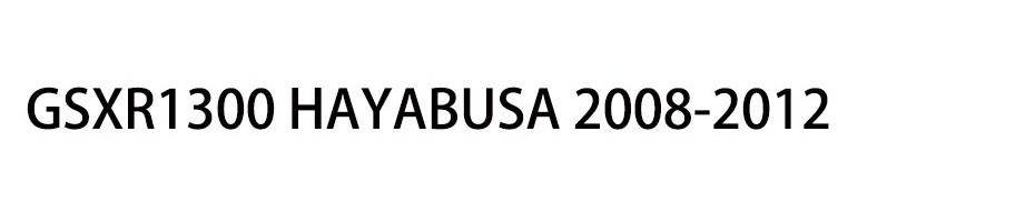 GSXR1300 HAYABUSA 2008-2012