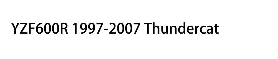 YZF600R 1997-2007