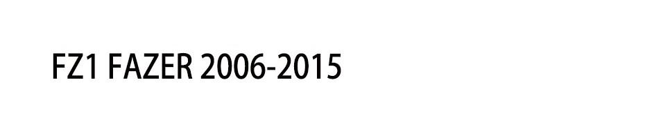 FZ1 FAZER 2006-2015