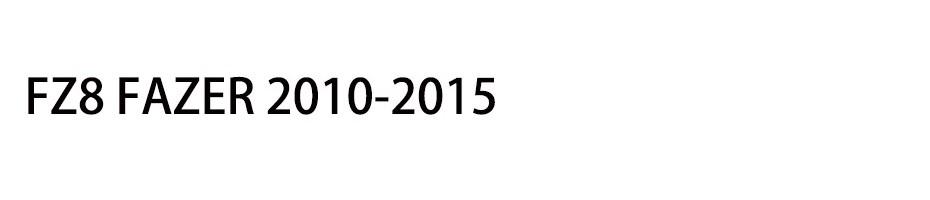 FZ8 FAZER 2010-2015