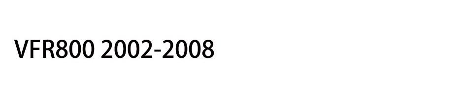 VFR800 2002-2008
