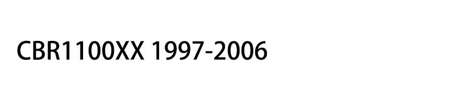 CBR1100XX 1997-2006