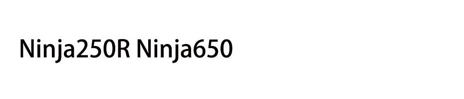 Ninja250R Ninja650