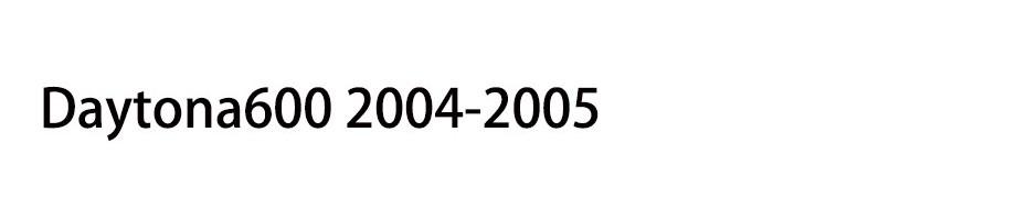 Daytona600 2004-2005