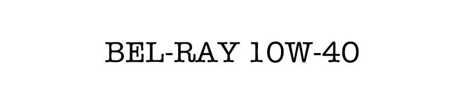 BEL-RAY 10W-40