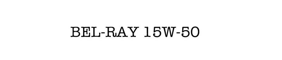 BEL-RAY 15W-50